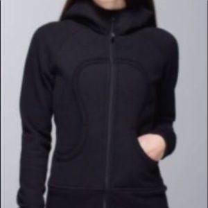 Lululemon Black scuba limited edition hoodie 10